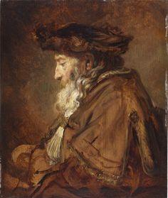 Master Painting: Rembrandt Heads, Part 2 Classic Paintings, Old Paintings, Leiden, Rembrandt Paintings, Oil Portrait, Painting Portraits, Brown Art, Dutch Painters, Renaissance Art