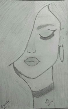 You know it kinda looks like selena gomez amazing drawings, easy drawings, cute drawings Easy Pencil Drawings, Easy Drawings Sketches, Cool Art Drawings, Beautiful Drawings, Drawing Ideas, Simple Sketches, Disney Drawings, Drawing Tips, Pencil Drawing Tutorials