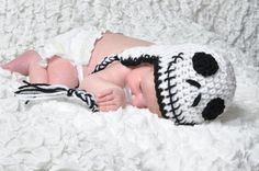 Jack Skellington Baby Hat from Nightmare Before by Lilydotcrochet, £15.00