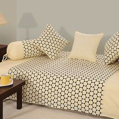 Diwan is a space in room that in usually on three sides that is raised and can covered with cushions and used for seating.