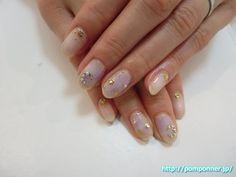 色使いがお洒落な冬ネイル #ネイル #nails #nail