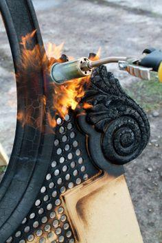 #InspiraçãoDoDia Que tal queimar seus móveis