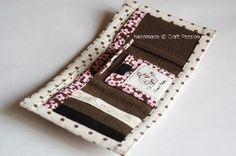 Free Wallet pattern and tutorial