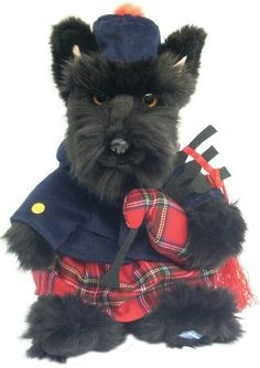 """This is just adorable. Nailed it with the eyes and how """"over it"""" he looks!  Scottish terrier!"""