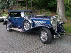 1929 Duesenberg Derham Dual Cowl Phaeton - (Duesenberg Automobile & Motors Company, Inc. Auburn, Indiana,1913-1937)
