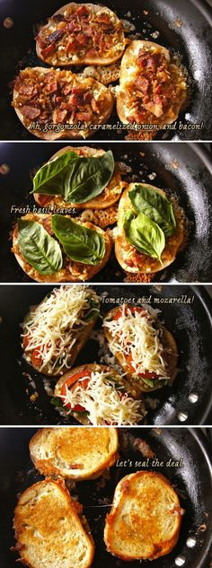 Bacon, Basil, and Tomato Grilled Cheese – weekend recipes