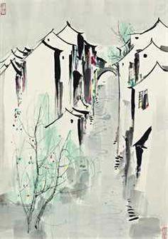 Modern Chinese Painting - Wu Guanzhong