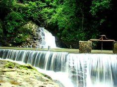 Cascadas en Ilobasco, Cabañas. Cortesía grupo Beautiful El Salvador.