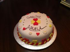 Thank-you cake by Odete's Delicious