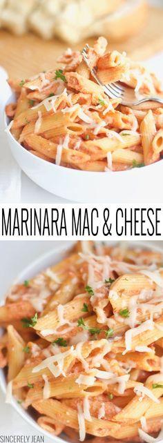 Marinara Mac & Cheese #holidaypairing @BarillaUs @galbanicheese @walmart