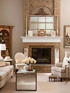 Fireplace Styles And Design Ideas  Living Rooms Room And Linen Delectable Living Room Designs With Fireplace 2018