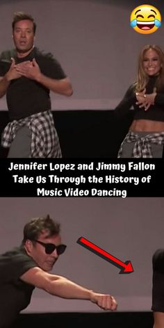 "The ""Dance Again"" hitmaker proved that she really could dance again by performing an impressive mash-up. Along with host, Jimmy Fallon, Lopez recreated some of the most legendary dance moves to ever grace the pop charts. Pop Charts, Funny Memes, Jokes, Oil Shop, Jimmy Fallon, Dance Moves, Crazy People, Jennifer Lopez, Everything"