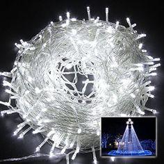 Wentop 10M 33FT 100 LED Fairy String Lights Christmas Wedding Party Xmas Decoration White WenTop http://www.amazon.com/dp/B010LYEDLG/ref=cm_sw_r_pi_dp_m905wb1NRNXGT