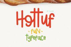 Hottuf Font - Display