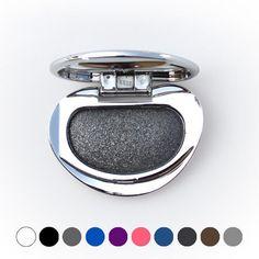 Diamant Simple Four Eye Shadow Powder Makeup Palette en Shimmer Metallic Glitter Crème Fard À Paupières Palette