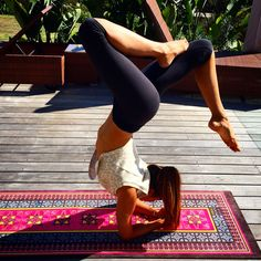 Morrocan Pink Luxe Eco Yoga Mat with Yoga babe yoga patch.