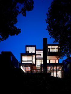 RAVINE #HOUSE by Drew Mandel #Architects - Tom Arban Photography
