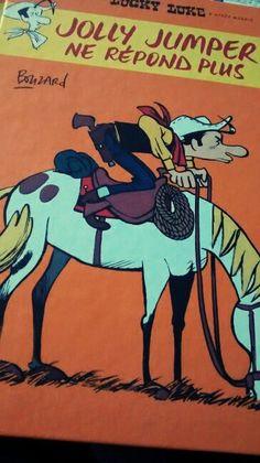 Bouzard - Holly Jumper ne répond plus - Un Lucky Luke revisité par Bouzard totalement déjanté !!! Jumper, Lucky Luke, Totalement, Lectures, Photos Du, Comic Books, Comics, Reading Nooks, Jumpers