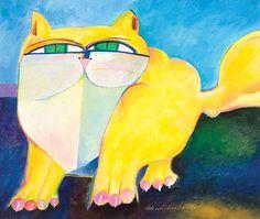 Gato Amarelo - Yellow Cat | by Aldemir Martins