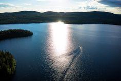 Napapiirin helmi, Miekojärvi Pellossa Länsi-Lapissa ilmasta kuvattuna