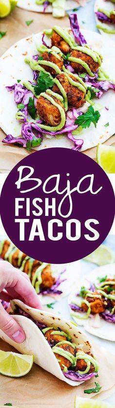 Baja Fish Tacos: