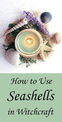 11 Ways to Use Seashells in Witchcraft & Spells - Moody Moons Put all those seashells you gathered at the beach this summer to use! Try one of these ideas to use seashells in witchcraft, spells and magic. Magick Spells, Wicca Witchcraft, Wiccan Witch, Fairy Spells, Mermaid Spells, Green Witchcraft, Water Witch, Sea Witch, Moon Witch