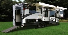 2017 Grand Design Momentum 376TH Stock: 17150 | River City Recreation World has the Travel Trailer to fit your needs including this toy hauler/travel trailer all in one! Come and see us today! http://www.rivercityrvs.com/