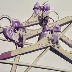 Handmade customised hangers