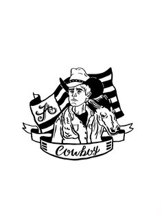 #handdrawn #drawn #draw #handlettering #lettering #type #typography #illustration #graphic #graphicdesign #art #americanstyle #cowboy #wooandesignfactory