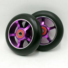 2 roda! gratis pengiriman! freestyle stunt scooter roda rol ski roda  100mm88a e233bbd31f