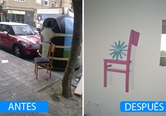 A fun thing to do with decommissioned chair