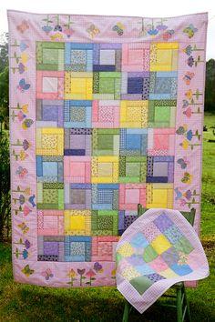 pretty pink quilt