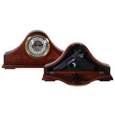 Mantel Clock Gun Safe
