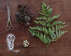 How to Make a Woodland Wedding Garland
