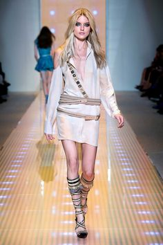Women's fashion and accessories - SS 2013 - Fashion show collection - Versace 2013