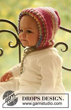 Little Miss / DROPS Baby 18-11 - Solmittava DROPS myssy Fabel-langasta.