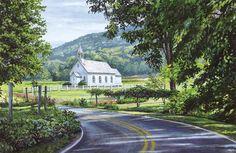 North Carolina Artist ~ William Mangum