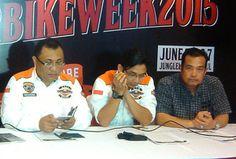 Panitia Bogor Bike Week (BBW) 2015 berencana akan mengundang seluruh klub-klub motor di Indonesia serta klub motor dari beberapa negara sahabat.  Hal ini dikemukakan Ketua Panitia Bogor Bike Week 2015, Bro Teuku Badrudin Syah dalam siaran persnya di RM Tom Yam, Bogor Timur Kota Bogor, Jumat (20/2/2015).  #BOGORBIKEWEEK2015 by #HDCIBogor