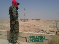 #Media #Oligarchs #MegaBanks vs #Union #Occupy #BLM #Rojava  British volunteers in socialist 'Bob Crow Brigade' prepared to die fighting Isis  http://www.independent.co.uk/news/uk/home-news/syrian-war-british-fighters-in-the-socialist-bob-crow-brigade-prepared-to-die-to-fight-against-isis-a7312161.html  Exclusive: Members of Kurdish-allied force speak to The Independent as they prepare for new advance   A group of British, Irish and Canadian volunteers fighting in Syria say they are prep