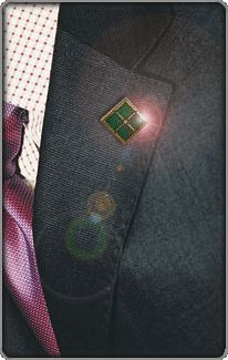 ITIL v3 Foundation Pin - After completing the exam you earned your right to wear these