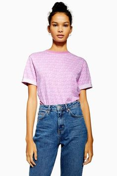 c7d90e01 Cropped Rainbow Logo T-Shirt by Tommy Jeans | A/no more pins needed ...
