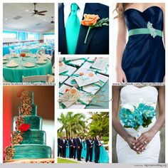 nigerian-wedding-cyan-aqua-blue-and-navy-blue-wedding-color-scheme.jpg (1024×1024)  with grey- could be perfect...