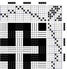 Gangewifre Weaving: Deflected Double Weave