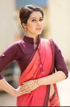 Raashi Khanna  Outfit by @pinnacle_shrutisancheti  Jewellery from @suhanipittie  Styled by @nithishasriram @shivanshi_khanna  Hair by @venkatesh6089  Make up by Ramesh Anna. Picture courtesy : @mcreations_official