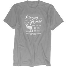 Stormy Kromer men's T shirts | Made in USA