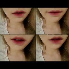 "Nars ""Damned"" Velvet Matte Lip Pencil. Taeyeon from SNSD - gradient lip"