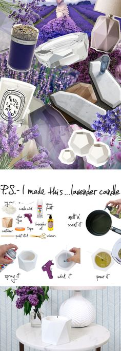 Lavender is known for its many health benefits so we've decided to inject a little oh-la-la-lavender into our home. With a few simple ingredients you can create this handmade candle that will warm up any room and leave it smelling amazing. To create:...