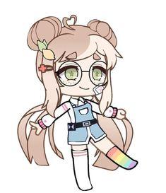 Kawaii Chibi, Kawaii Art, Anime Chibi, Character Outfits, Cute Anime Character, Kawaii Drawings, Cute Drawings, Episode Interactive Backgrounds, Club Hairstyles