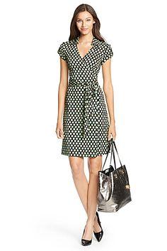 DVF Jilda Two Silk Jersey Wrap Dress