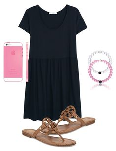 """""""Read the d!"""" by preppygirl13 ❤ liked on Polyvore featuring MANGO, Tory Burch, women's clothing, women's fashion, women, female, woman, misses and juniors"""